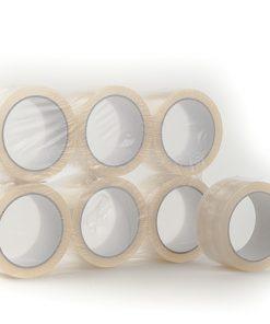 Tape, PP hotmelt, 28 My, transparant, 48 mm x 66 m per rol, 36 rol per doos-0