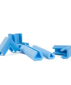 U-profielen, 20-35 mm, blauw, 2.000 mm lang, 105 stuks per doos-0