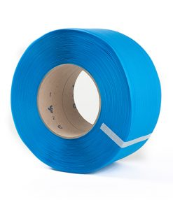 Omsnoeringsband, PP, blauw, 0,55 mm dik, 12 mm x 3.000 m, kern 200 mm-0