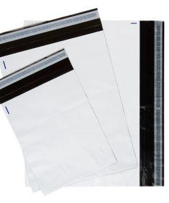 Koerierszakken, met sluitstrip, 335 x 430 + 50 mm-0