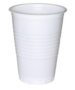 Drinkbekers, PS, wit, 180 cc, 3.000 stuks per doos-0