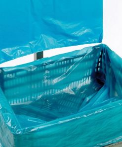 Kratzakken, LDPE, 20 My dik, 3% blauw, 600/225 x 700 mm-0