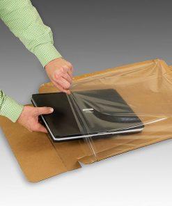 Laptopverpakking, laptopdoos, inclusief accessoire compartiment, 10 - 12 inch