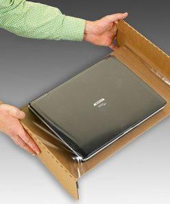 Laptopverpakking, laptopdoos, inclusief accessoire compartiment, 17 inch