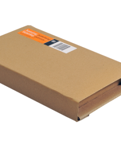 Boekverpakking, wikkelverpakking, bruin, 455 x 320 x 20-55 mm (A3)-0